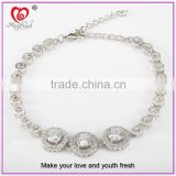wholesale latest new model hot sale fashion silver bracelet 2015 latest bracelet designs