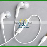 White Headset Earphone Headphones microphone+Volume Control For Samsung Galaxy S2 S3 Note 2 S2 i9300 i9100 i9108 i9103