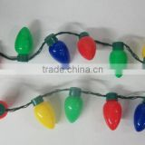 Christmas Bulbs LED Light Up Necklace Holiday Adult Child Costume Accessory