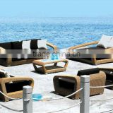 outdoor synthetic rattan furniture sets for outdoor outdoor sofa bed