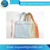 Hot sale Customized recyclable fashion shopping cotton bag