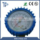 TP manifold gauge with cover for R134a