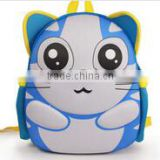 In 2015 the new EVA cartoon 3 d design backpack bag of primary and middle school students