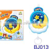 New fashion baby toy windup moon baby mobile