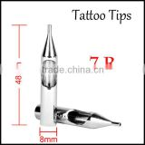 professional stainless steel tattoo tip 7R round shape tattoos