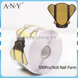 ANY Paper Nail Art Extension Form 500 Nail Shaping Tool Factory