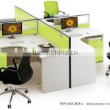 call center cubicle modular call center workstation FOH-SS42-2828-A