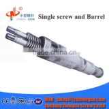 raw material conical twin screw barrel for pvc pipe extruder