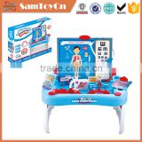 Simulated medical tools stand plastic kids doctor toys
