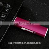Wholesale Cheapest Disposable Custom Refillable Electronic USB Lighter Metal USB Rehargeable Cigarette Lighters With USB Charger