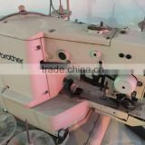 Used brother brand 438E button attaching sewing machine