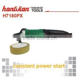 Hongjian brand H7180PX1200W 180mm constant power start dual action polisher edge floor grinder electric floor polisher