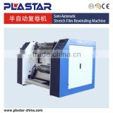 Automatic customized stretch film slitter rewinder machine