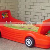Manufacture Lovely Plastic Baby Car Bed