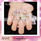 3D jewelry Art Vinyl Nail Stickers Classic Feather Design Nail Art Decorative Stickers                                                                         Quality Choice