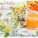 50 Times Concentrated Mix fruit Juice Concentrates for Mix fruit juice concentrated flavor juice                                                                         Quality Choice