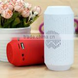 Promotion Gift bluetooth speaker with alarm clock qi charging waterproof wireless bluetooth speaker