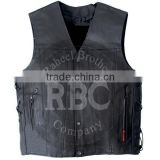 motorcycle leather leather shooting vest kids leather vest buffalo leather vest Waistcoat german biker men leather biker vest