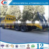 price 2015 top Ranking Flat Bed Container Semi Trailer With Twist Locks On Deck