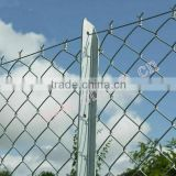 Galvanized basketball fence netting