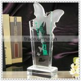 Beautiful Crystal Butterfly Awards For Wedding Trophy Gifts