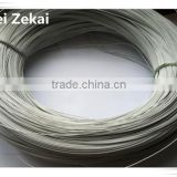 factory wholesale PVC coated galvanized iron tie wire for building construction material