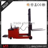 1t 1600mm single mast firm lifter electric reach stacker forklift