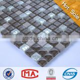 JY eva mosaic art and craft mesh for mosaic tiles philippines glass mix stone mosaic tile hotel decorative wall art