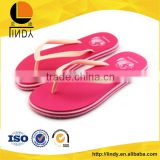 2016 hot sale rubber women soft flip flop indoor sandals