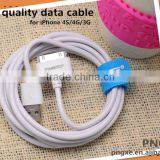 Bulk usb cable wholesale pngxe stable quality mobile phone usb cable for iphone 4 charger cable