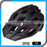 matt black outdoor equipment cycle short track helmet with sun visor