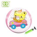 Inflatable body bumper ball zorb ball with fabric and colorful pattern