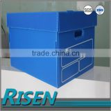 collapsible corrugated plastic box