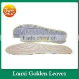 High quality factory sell Soft Anti-odor massage insole Fiber bamboo Charcoal, Fiber insole board