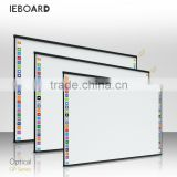 Multi touch optical interactive whiteboard, optical smart board, optical digital whiteboard