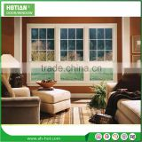 Tilt and Turn Window Hinges Double Glass PVC Hung Window Cheap PVC Window with Fixed Glass
