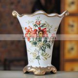 Yiwu Aimee supplies antique white ceramic vaseslarge, chinese ceramic floor vases(AM-FP014)