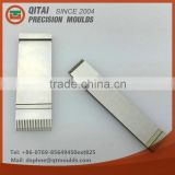 Gold supplier QITAI OEM customized high precision mould,punching mold, OKUMA CNC machining male female connectors