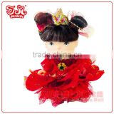 9cm mini pvc fairy baby doll toy children fashion gift