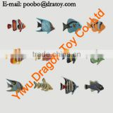 factory hot sale small rubber fish toys