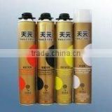one-component heat-insulated polyurethane spray canned PU foam sealant manufacturer in China