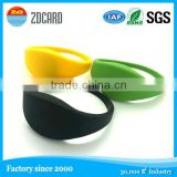 RFID smart silicone bracelets | great quality silicone bands | Customized silicone bracelet wristbands