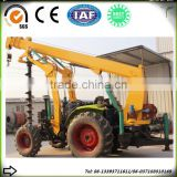 poling machine pole digging machines for constrction and garden