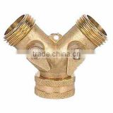 brass 2 way manifold connector valve SGB1134