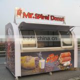 Outdoor Food Cart Street Food Vending Cart