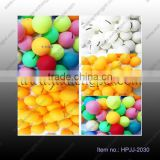 OEM good quality celluloid 40mm seamless tabble tennis pingpong ball for match and training can print your logo