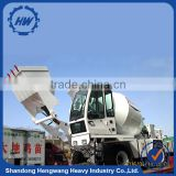 Factory price 4 cubic meter self loading concrete mixer truck
