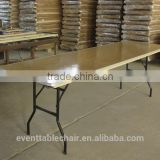 wholesale banquet folding table wood