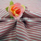 Fashional Softness For Garment Wool Knitted Striped Rib Fabric For Wholesale