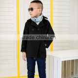 COOL KID ZONE 2016 winter hot sale korean fashion stylish children's coats boys tweed coat